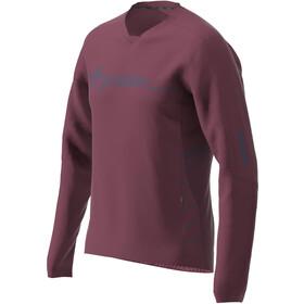Zimtstern EcoFlowz LS Shirt Men, windsor wine/french navy